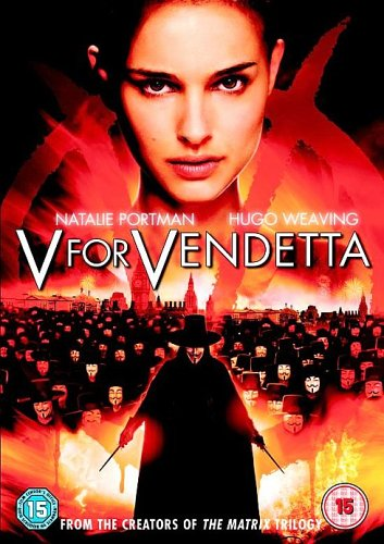 V FOR VENDETTA POSTER MADA
